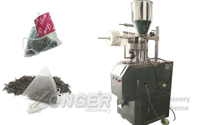 pyramid tea bags machine