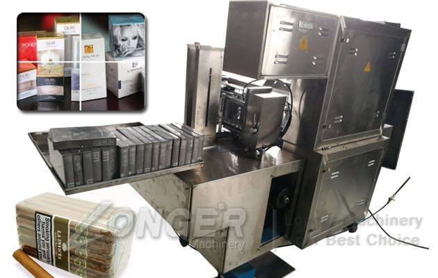 medicine box cellophane packing machine