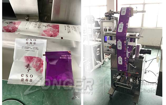 commercial tea bag machine