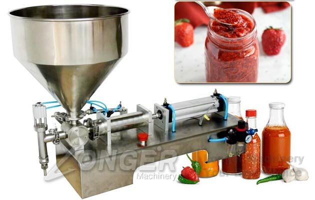 peanut butter jam filling machine