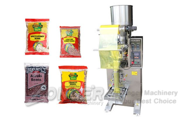 beans granules filling machine