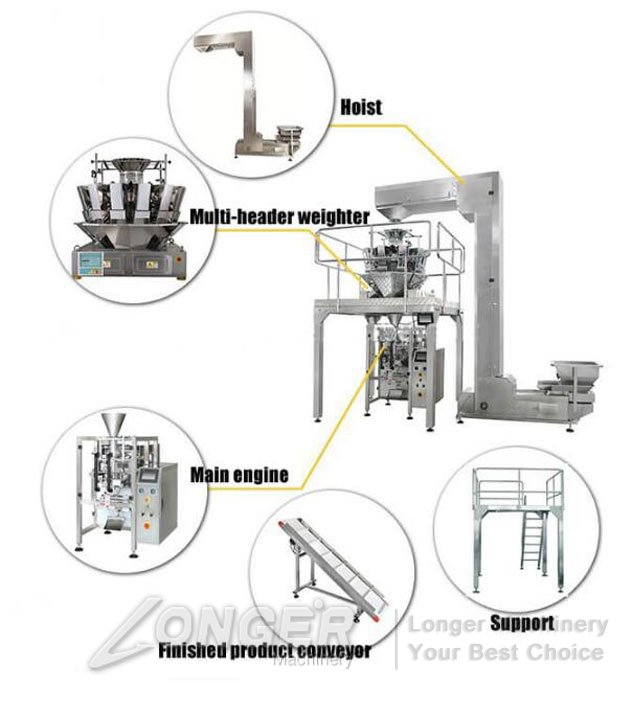 automatic garlic packing line