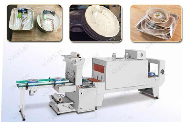 shrinkage wrap machine for plate