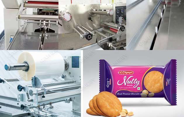 biscuit flow wrap machine for sale