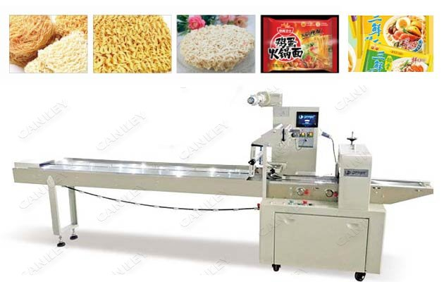 instant noodle flow wrap machine