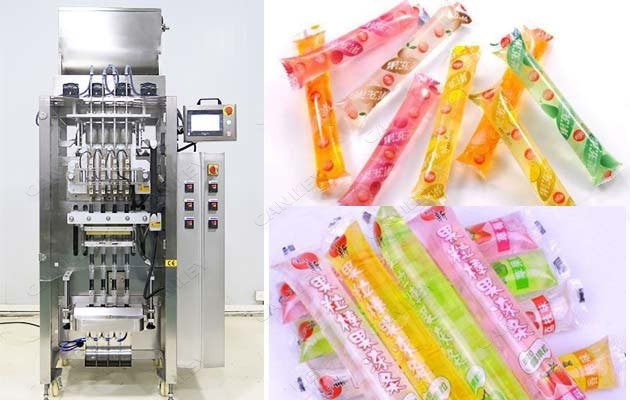 liquid popsicle filling machine