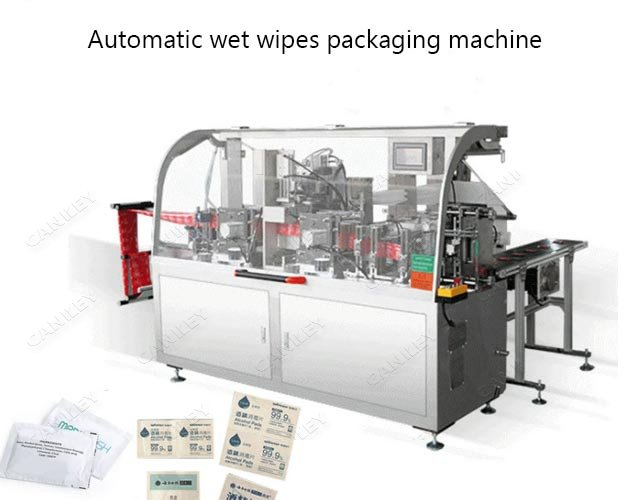 automatic wet wipes packaging machine