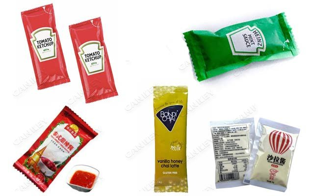 sauce sachet packging machine